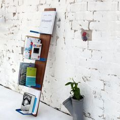 Nissan Shelf // Blue  By Shay Carmon and Ben Klinger