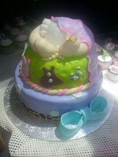 Baby showey cake