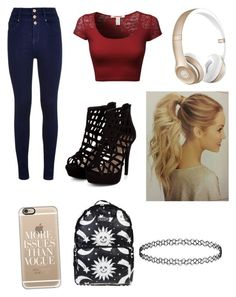 """Untitled #149"" by mylifeasmyaaa1 on Polyvore featuring Casetify, Beats by Dr. Dre, women's clothing, women's fashion, women, female, woman, misses and juniors"