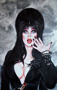 ELVIRA MISTRESS OF THE DARK.