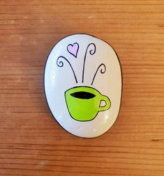 Painted rocks and other gems for home and garden by LittleGardenGems Rock Painting Patterns, Rock Painting Designs, Paint Pens, Paint Markers, Craft Activities For Kids, Craft Ideas, Rock Box, Painted Rocks Craft, Dremel Tool