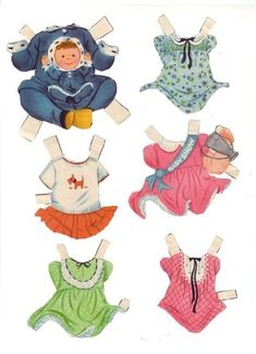 BABY PAPER DOLL - sabine llorens - Picasa Webalbum* 1500 free paper dolls at artist Arielle Gabriel's International Paper Doll Society also her new memoir The Goddess of Mercy & the Dept of Miracles playing with paper dolls in Montreal *
