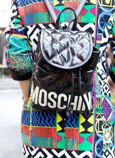 Vintage moschino #mymoschino #backpack