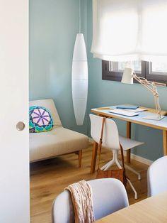 déco intérieur Pastel | Deco Bleu Pastel Deco-mur-bleu-pastel