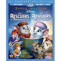 The Rescuers: 35th Anniversary Edition Two-Movie Special Edition Three-Disc Blu-ray/DVD Combo - $12.93!  - http://www.pinchingyourpennies.com/rescuers-35th-anniversary-edition-two-movie-special-edition-three-disc-blu-raydvd-combo-13-89/ #Amazon, #Bluraydvdcombo, #Pinchingyourpennies, #Therescuers, #Therescuersdownunder