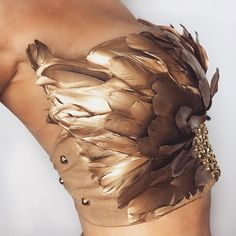 The Goddess Feather Festival Top- Gold Sequins Burning Man Outfits, Festival Outfits, Festival Fashion, Rave Outfits, Fashion Outfits, Men's Outfits, Men's Fashion, Halloween Outfits, Halloween Costumes