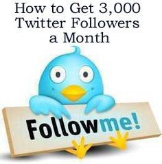 How to get 3,000 Twitter Followers a Month http://fiverr.com/chivvy/show-you-how-to-get-6000-followers-a-month-to-your-twitter-account