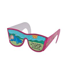 """Color Your Own """"Saul is Blinded"""" Glasses - OrientalTrading.com"""
