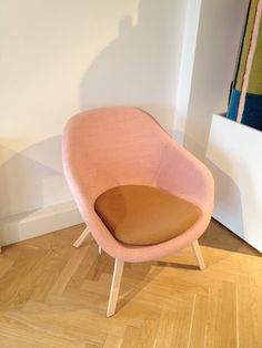 HAY About a Chair -- cushion in different colour / Design Trade Copenhagen 2013