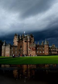 Glamis Castle, Angus, Scotland by Eva0707