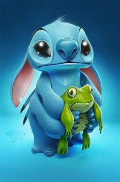 Stitch From Lilo and Stitch
