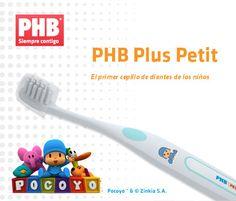 Pocoyo te ayuda en la higiene dental de tu hijo. Cepillo de dientes PHB, sólo $3.10€