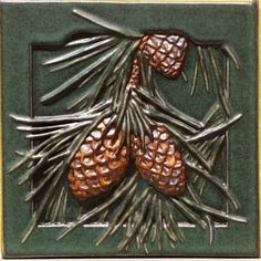 Pinecone tile