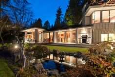 West Vancouver Home by renowned Architect Russel Hollingsworth #blurrdMEDIA