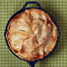 Making an apple pie has never been so easy. Simply toss apples, cinnamon, and brown sugar, and spoon over a refrigerated pie crust in the...
