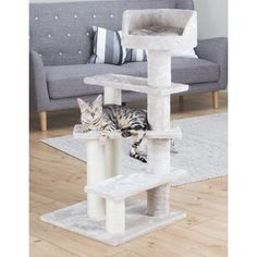 Our Official Trixie Tulia Senior Cat Tree - Gray is the perfect product for almost any pet at an exceptional value!