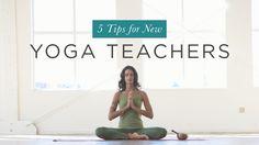 5 Tips for New Yoga Teachers | Yoga International