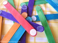 Velcro Dot Craft Sticks