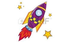 Rocket Ship / Illustration Of A Rocket Ship Space Vehicle Blasting . Hillsboro Oregon, Cartoon Pics, Clipart Images, Royalty Free Stock Photos, Clip Art, Symbols, Space, Disney Characters, Illustration