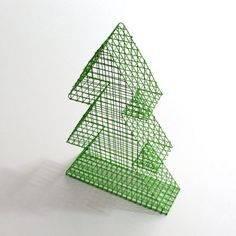 Decorative Christmas tree mesh by LaFabriquealettres on Etsy, €39.00