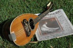 Roundback Mandolin (Mandola) in the Grass!