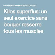 Kilos superflus: un seul exercice sans bouger resserre tous les muscles