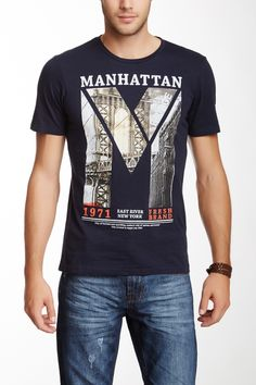 Manhattan Graphic Tee on HauteLook