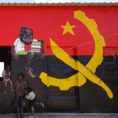 #Graffiti Angola Africa