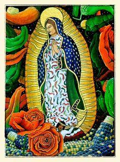 Nuestra Senora de Guadalupe Artist: Douglas From New Mexico