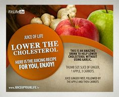 . lower your cholesterol