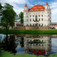 Wajanow Palace in Dolonslaskie, Poland.