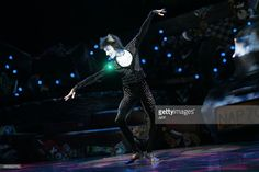 Axel Alvarez as character 'Mistoffelees' performs during the presentation of excerpts of the musical 'Cats' on October 1, 2015 on stage at the Theatre de Mogador in Paris, ahead of the start of 90 performances of the musical at Theatre Mogador from October 1, 2015 through January 10, 2016. AFP PHOTO / JACQUES DEMARTHON
