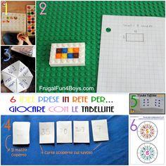 6 idee prese in rete per... giocare con le tabelline