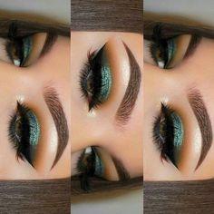 I must try one day this eye makeup - Beauty - Eye Make up Makeup Goals, Makeup Inspo, Makeup Inspiration, Beauty Makeup, Makeup Ideas, Makeup Pics, Makeup Salon, Makeup Meme, Sultry Makeup