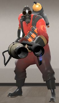 Pyro - from Team Fortress 2. Team Fortress 2Halloween CostumesVideo ... & Pyro Flamethrower Team Fortress 2 for cosplay by Minatek616 on ...