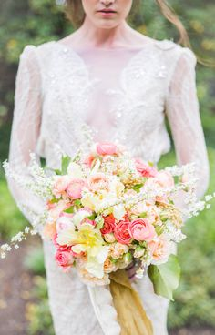 This bouquet is everything: http://www.stylemepretty.com/2015/05/10/fleur-de-rever-editorial-inspiration-shoot/   Photography: Sally Pinera - http://www.sallypinera.com/