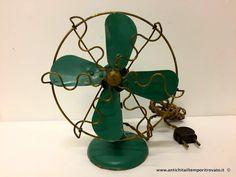 Oggettistica d`epoca - Strumenti scientifici Piccolo ventilatore Siemens Schuckert - Antico ventiltore da collezione anni 30 Immagine n°1
