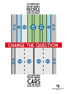 Great  complete streets agitprop from Copenhagenize: How many PEOPLE we can move down the street? Click image to tweet and visit the slowottawa.ca boards >> http://www.pinterest.com/slowottawa/