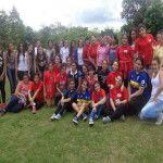 Más de 80 jóvenes participaron del primer campamento juvenil interparroquial en El Alto