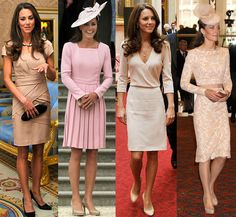 Kate Middleton Style.. love all these dresses