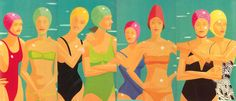 Alex Katz The Bathers