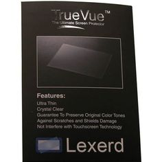 Lexerd - SI-Tex ColorMax Wide TrueVue Anti-glare Fish Finder Radar Screen Protector * You can find more details by visiting the image link.