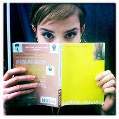 The Perks of Being a Wallflower by Stephen Chbosky (a la Emma Watson)
