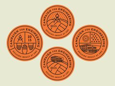 Series of options for an upcoming campaign. Business Logo Design, Branding Design, Badge Icon, Hipster Logo, Album Cover Design, Badge Logo, Badge Design, Typography Logo, Logo Design Inspiration