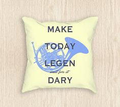 Hey, I found this really awesome Etsy listing at https://www.etsy.com/listing/271102812/how-i-met-your-mother-french-horn-pillow