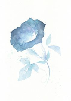 Flower flower print giclee giclee flower Watercolor by ChiFungW