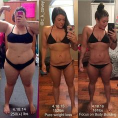 Before and After Weightloss Inspiration. Want to make a fitness transformation like this? Read her story