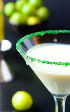key-lime-martini| HollysCheatDay