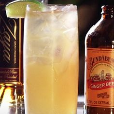 60 Second Video Tutorial: The Dark 'n' Stormy gets its name from a British soldier who said the concoction resembled 'the color of a cloud that only a fool or dead man would sail under.' A Dark 'N Stormy is a highball cocktail made with dark rum (the dark) and ginger beer (the stormy) served over ice and garnished with a slice of lime.
