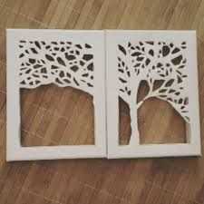 image result for cut out canvas art